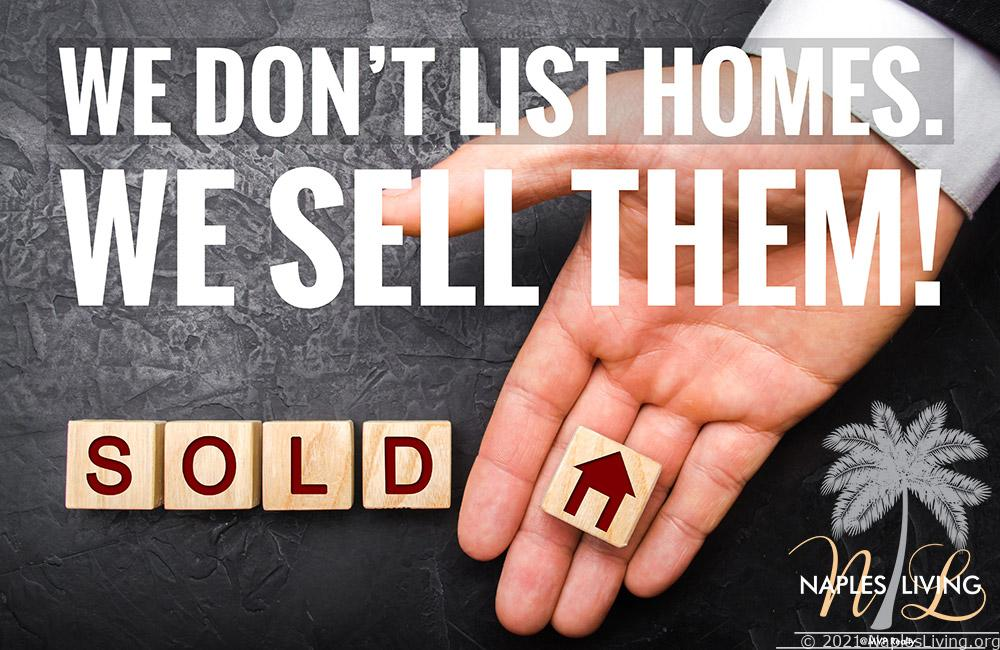 We Sell Homes - list your home for sale in Naples
