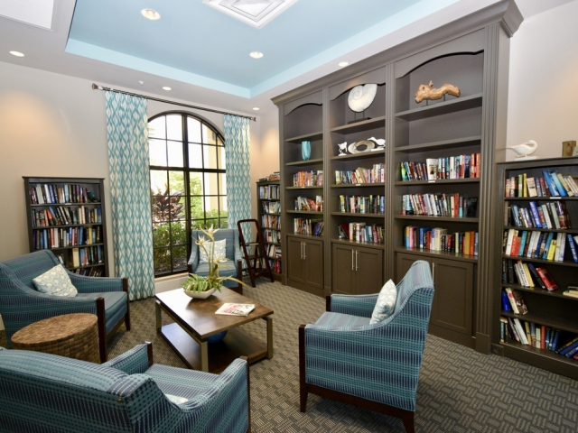 LaMorada Clubhouse Library / Reading Room