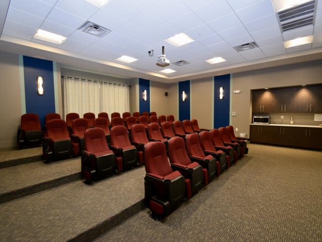 LaMorada Clubhouse Movie Theater