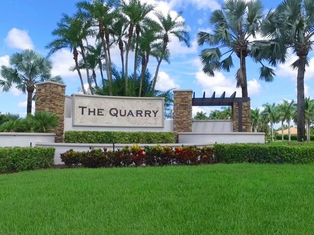 The Quarry Community - Monument Sign